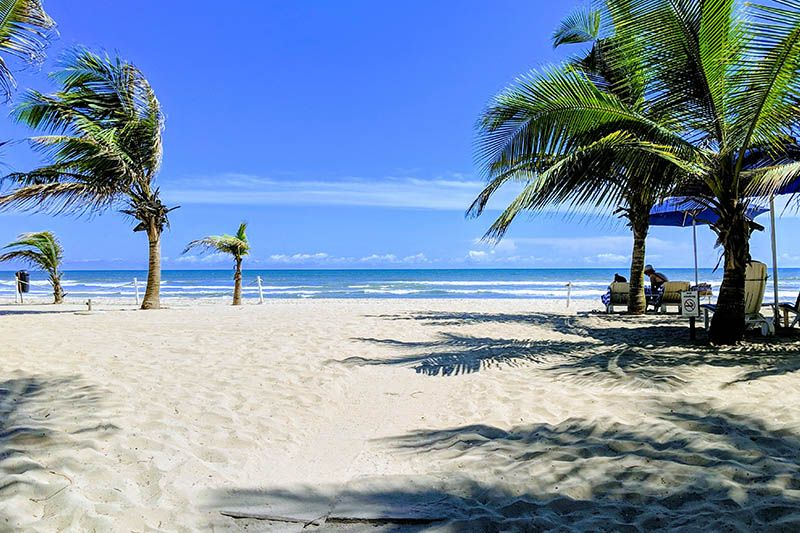 Labadi beach ad Accra
