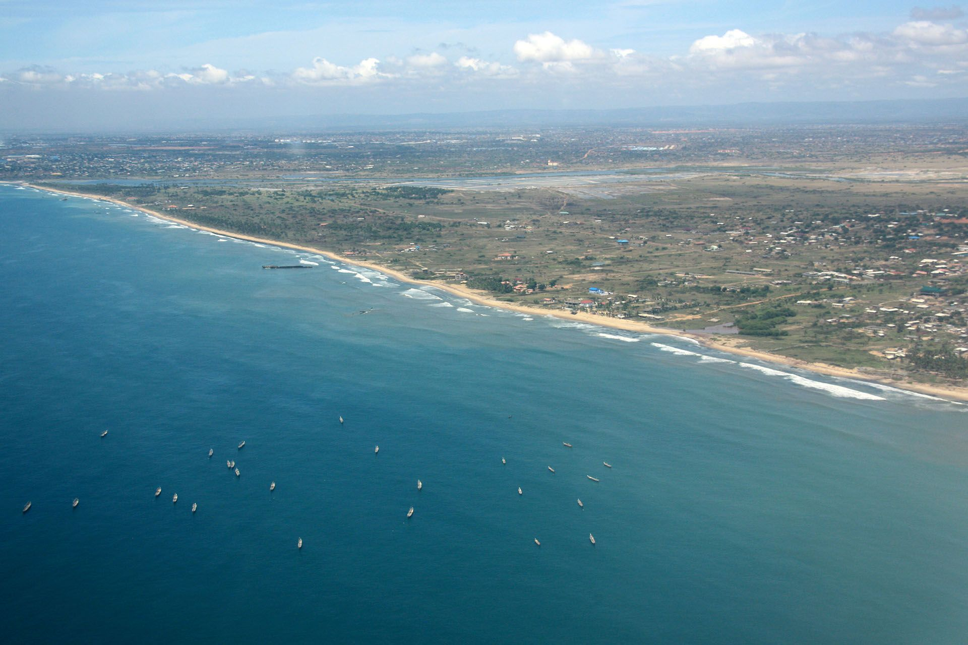 Ghana, base navale in mare