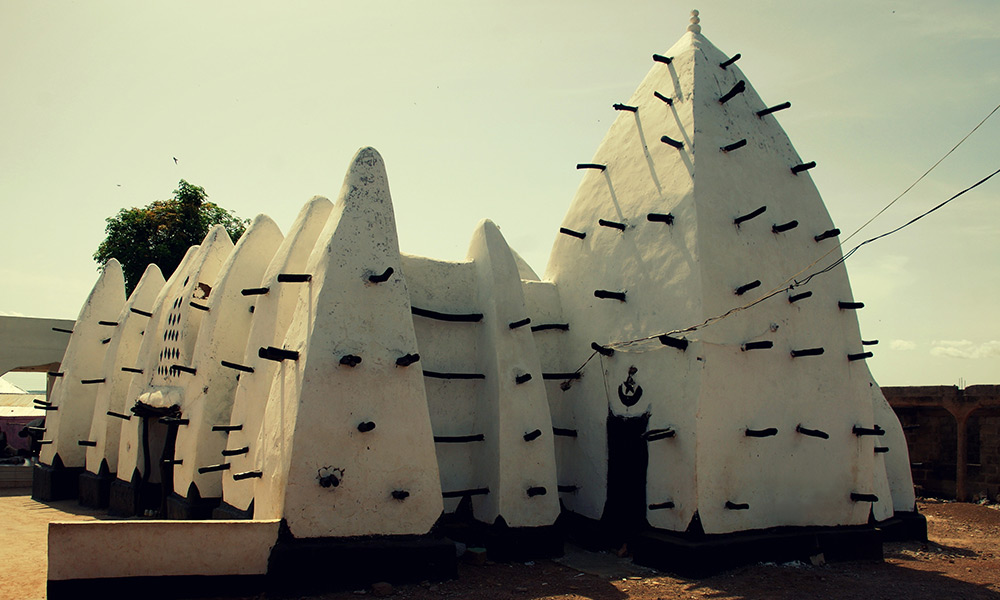 La moschea di fango di Larabanga